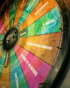 Wheel of fortune.