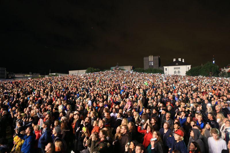 Reykjavík Culture Night.
