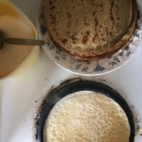 Icelandic pancakes.
